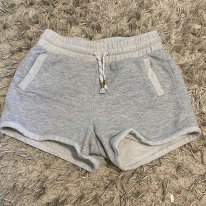 Girls Gray Shorts